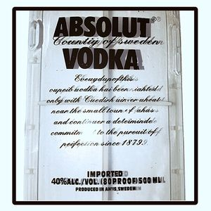 iPhone 6 Absolut Vodka Cell Phone Case NWT